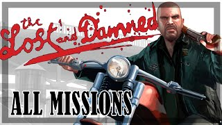 GTA 4: The Lost and Damned - All Missions Marathon