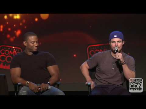 A promise is a promise Stephen Amell talks American Ninja Warrior