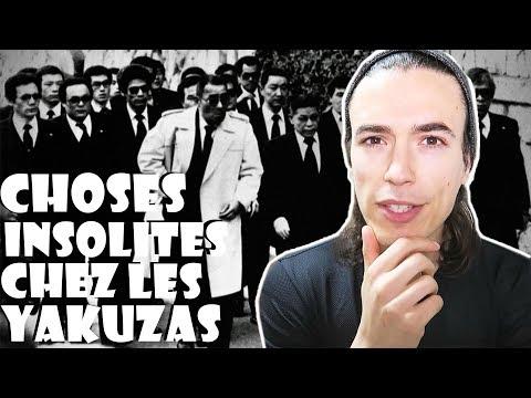 LES CHOSES INSOLITES CHEZ LES YAKUZAS ! JAPON