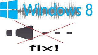 How To Fix Audio Problems On Windows 8 / Windows 8.1