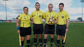 Behind the Whistle: U.S. Soccer Referee Nick Balcer at the DA Summer Showcase & Playoffs