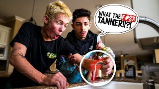 Destroying FaZe Rug's $30,000 Chain & GIVING HIM A BRAND NEW ONE!