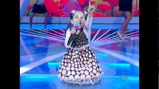 Milena  1º Amor  HD - Eu e as Crianças Raul Gil 02/02/2013
