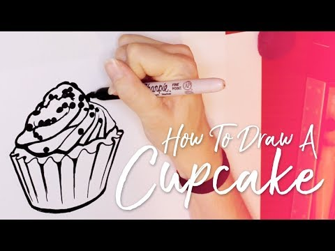 Xxx Mp4 TUTORIAL How To Draw A Cupcake Emma Maree 3gp Sex