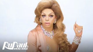 Drag Makeup Tutorial: Aja's Saint-Tropez Beat | RuPaul's Drag Race Season 9 | Now on VH1