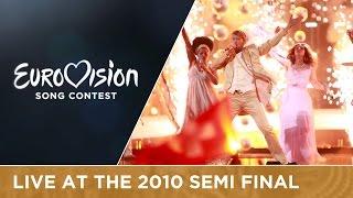 Michael von der Heide - Il Pleut de L'Or (Switzerland) Live 2010 Eurovision Song Contest
