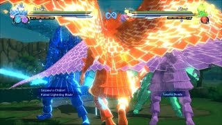 Naruto Shippuden Ultimate Ninja Storm 4 - All NEW Awakening Movesets (1080p)