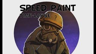 Timelapse Speedpaint - Identity | Digital painting | Photoshop |