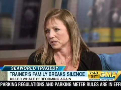 Sea World Whale Trainer Dawn Brancheau s Family Speaks Out Forms Foundation
