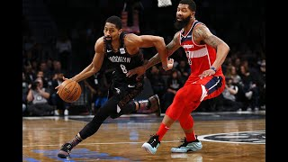 NBA: Nets hold off Wizards to win 4th straight