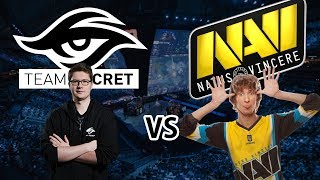 DOTA 2 LIVE - Team Secret vs Na'Vi | Bo3 | дота 2 2017 WTF