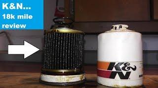 K&N Oil Filter 18,000 Mile Review