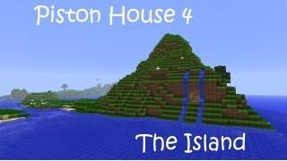Minecraft Piston House 4