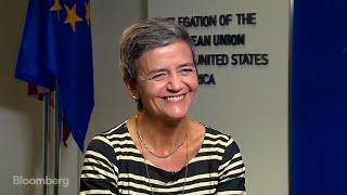 EU's Vesatager on Google, Mergers, Cooperation With U.S.