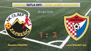 +NK Olimp Zaprešić - NK Bregana (1:2), Minić kup
