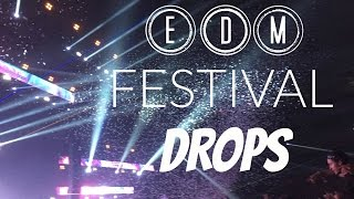 BEST LIVE EDM FESTIVAL DROPS  | 10 MINS