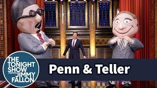 Penn & Teller Pull Off Their