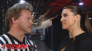 Stephanie McMahon berates Chris Jericho: Raw, January 18, 2016