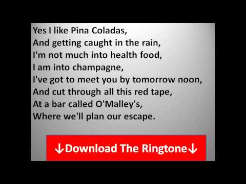 Download Rupert Holmes - Escape (The Pina Colada Song) Lyrics