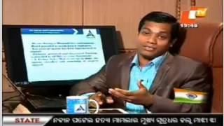 Annada TV Interview - Young Odisha Interview