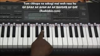 Jaanam Dekh Lo - Veer Zaara - Piano Tutorials
