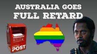Australia Goes Full Retard - Gay Marriage Postal Vote