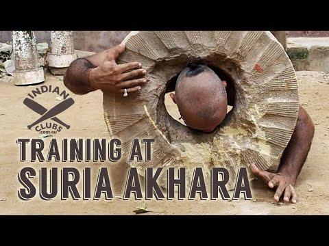 Indian Clubs   TRAINING at SURIA AKHARA