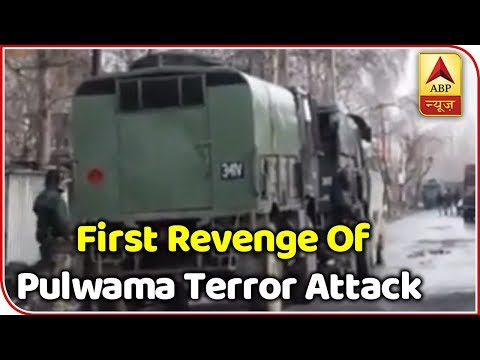Xxx Mp4 Indian Army Extracts First Revenge Of Pulwama Terror Attack ABP News 3gp Sex