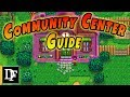 A Simple Community Center Guide - Stardew Valley