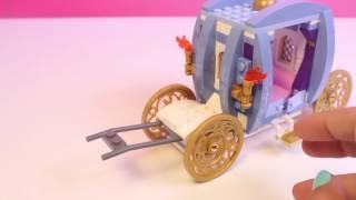 Lego Disney Princess Cinderella's Dream Carriage Lego Cinderella's Romantic Castle Disney To