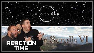 Starfield / Elder Scrolls VI Reveals - Reaction Time!