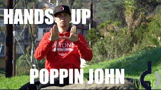 HANDS UP | POPPIN JOHN | JEPPELONG AUDIO ENHANCED
