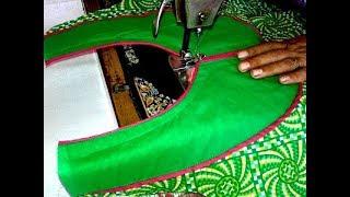 Kurti neck cutting and stitching video in hindi.