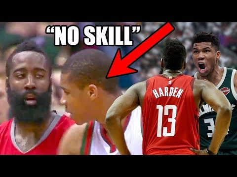 What You DON T Know About The Giannis & Harden Rivalry In The NBA Ft. No Skill Dribbling MVPs
