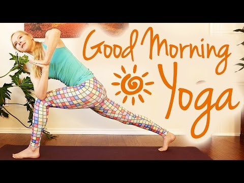 Morning Yoga Energy Boost For Weight Loss & Strength – Beginners 20 Minute Workout