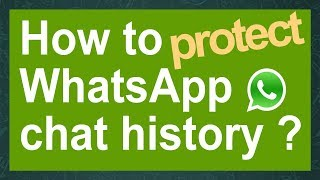 How to hack WhatsApp chat history & how to protect it ! (crypt7 only): Old: