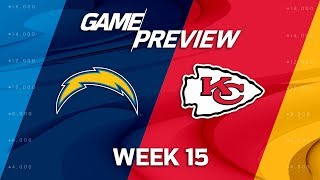 Los Angeles Chargers vs. Kansas City Chiefs | NFL Week 15 Preview | MTS
