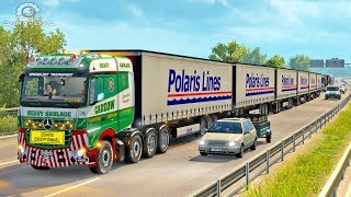 ROAD TRAIN LONG Trailer ETS2 (Euro Truck Simulator 2)