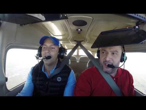Frank Linero Pilot flying iwth Cesare Salerno N864CK KFXE
