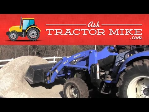 Using a Tractor and a Loader