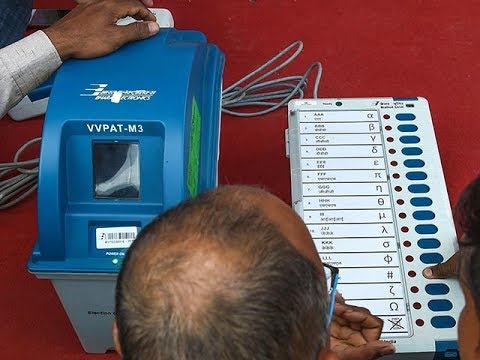 Xxx Mp4 Match 50 Of EVM Results With VVPATs Oppn Parties 39 Demand From EC 3gp Sex