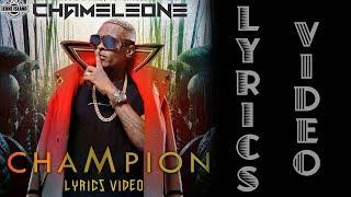 CHAMPION LYRICS - JOSE CHAMELEONE (Official Lyrics Video)