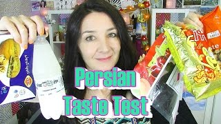 Persian Taste Test Treats and Snacks first time trying doogh
