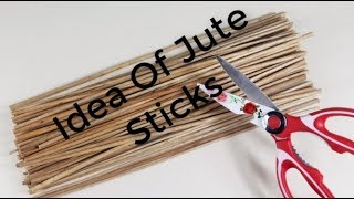 পাট কাঠি দিয়ে খুব সুন্দর আইডিয়া | Awesome Way To Use Jute Sticks
