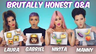 Brutally Honest Q & A w/ Laura Lee, Nikita Dragun & Manny Mua | Gabriel Zamora