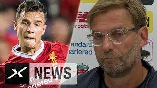 Jürgen Klopp nach Barcas Coutinho-Aussage verwirrt   FC Liverpool - Crystal Palace   Premier League
