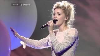 The X Factor Denmark 2012 - Final Live Show - Ida sings