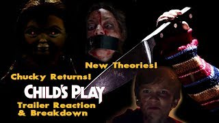 Child's Play Remake News - In Depth Trailer Breakdown - Review & Reaction - First Look at Chucky