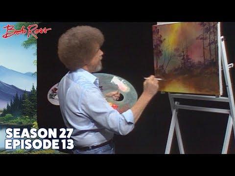 Bob Ross Golden Glow of Morning Season 27 Episode 13