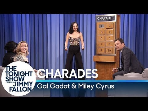 Xxx Mp4 Charades With Gal Gadot And Miley Cyrus 3gp Sex